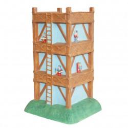 Tour du fort - Grand modèle en porcelaine peinte à la main