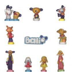 Bali - Série complète de 10 fèves brillantes - Année 2008
