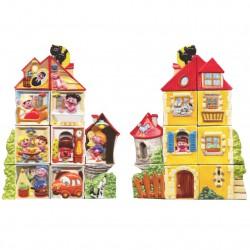 La maison du bonheur - Série complète de 10 fèves brillantes - Année 2009