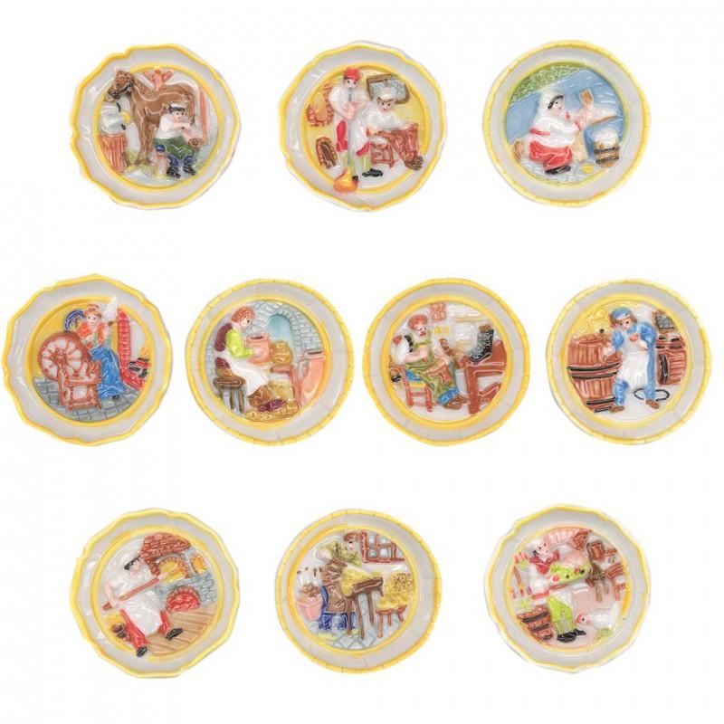 Assiettes murales