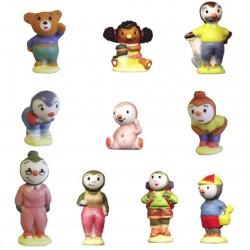 T'choupi - Série complète de 10 fèves mates - Année 2007