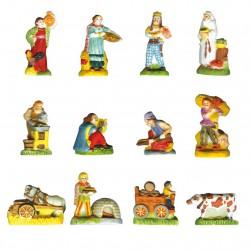 Nos ancêtres les Gaulois - Série de 12 fèves brillantes - Année 2007