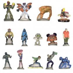 Ben 10 Alien force - Série complète de 14 fèves brillantes - Année 2010