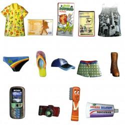Boucle ta valise - Série complète de 14 fèves brillantes - Année 2013
