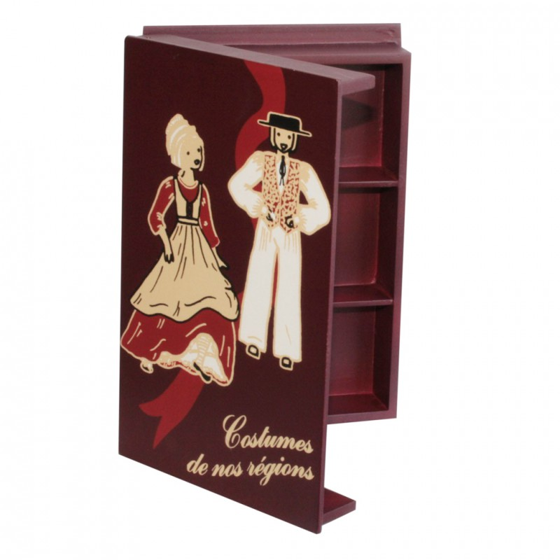 Coffret costumes (Traditional Dress display box)