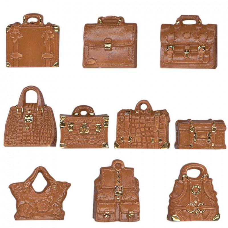 Maroquinerie de luxe marron