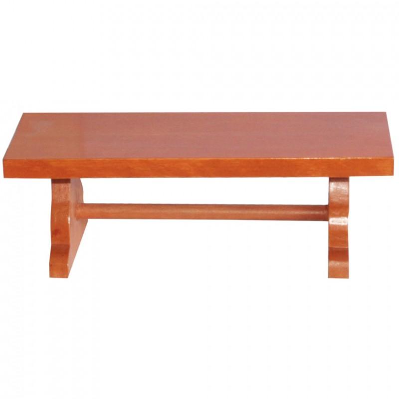 Petite table en bois - Présentoir pour magnifier collections de fêves