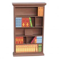 Présentoir bibliothèque - Pour magnifier vos collections de fèves