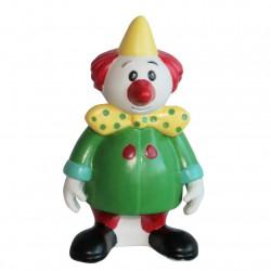 Kiri le clown - Grand sujet Porcelaine mate peinte à la main