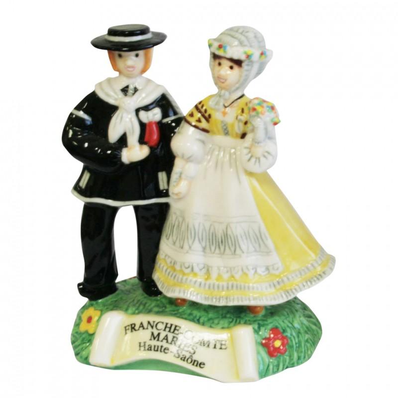 Costumes de Franche Comté: Les mariés de Haute Saône